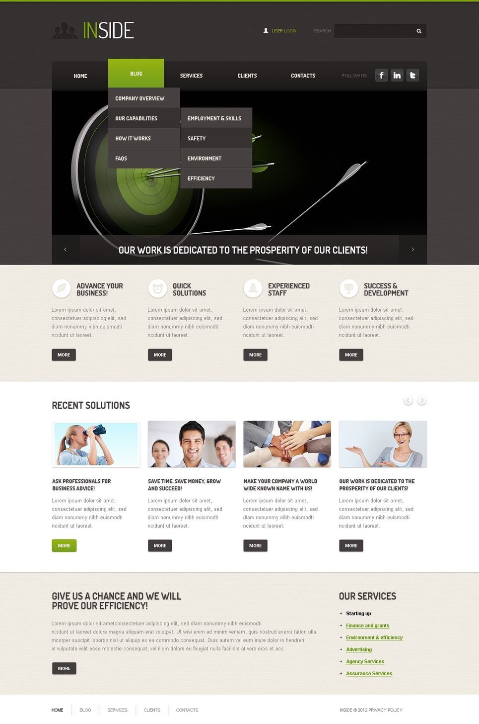 template for joomla 168 with marketing agency joomla template 39687
