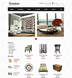 Furniture ZenCart  Template 39690
