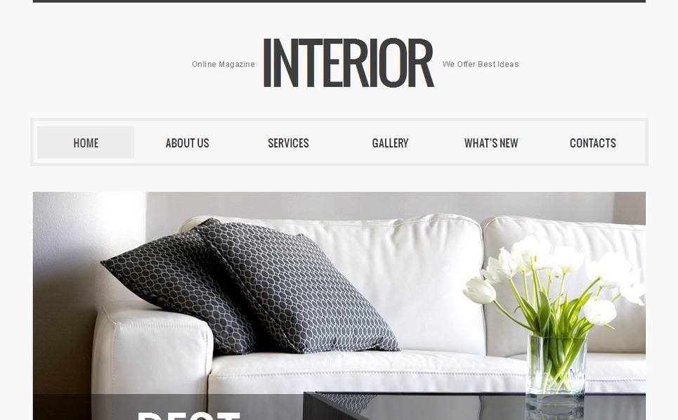 Plantilla Moto CMS HTML #39709 para Sitio de Diseño interior New Screenshots BIG