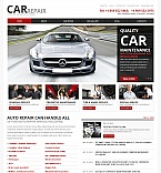 Cars Moto CMS HTML  Template 39712