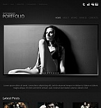 Art & Photography Moto CMS HTML  Template 39713