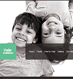 Charity Moto CMS HTML  Template 39716