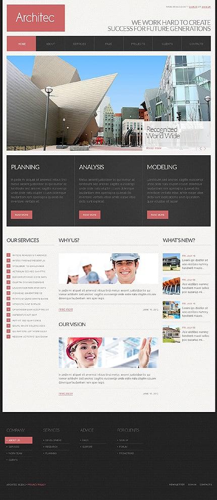Drupal Template 39725 Main Page Screenshot