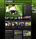 Sport Website  Template 39730
