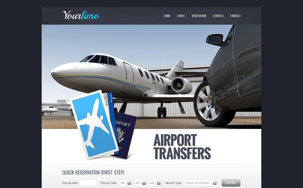 Šablona webových stránek Půjčovna aut New Screenshots BIG