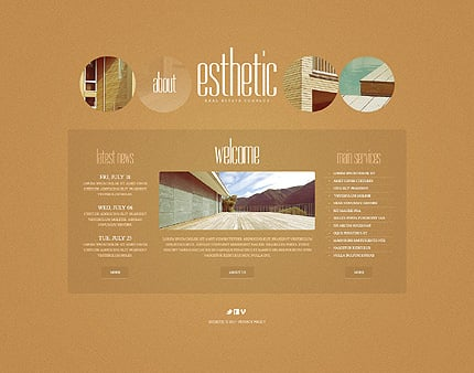 Template 39761 ( About Page ) ADOBE Photoshop Screenshot