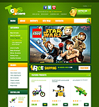 Entertainment OpenCart  Template 39772