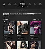 Fashion Website  Template 39783
