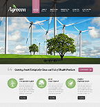 Agriculture Website  Template 39786