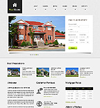 Real Estate Website  Template 39794