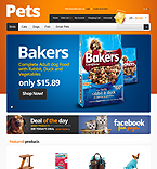 Animals & Pets OpenCart  Template 39799