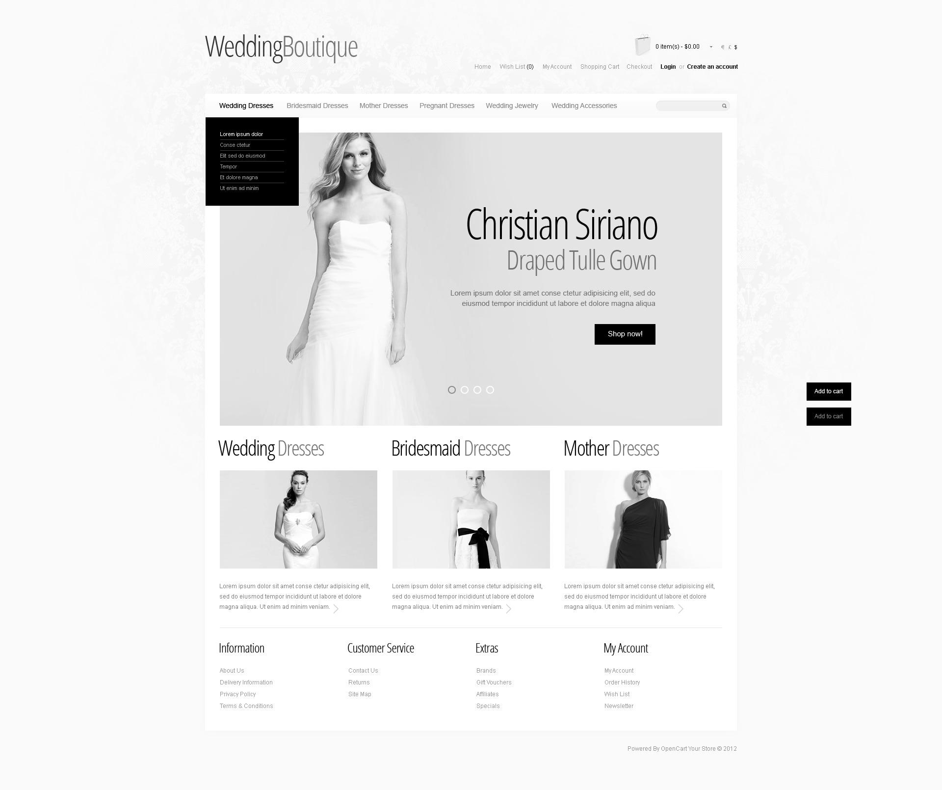 Wedding Boutique №39722 - скриншот