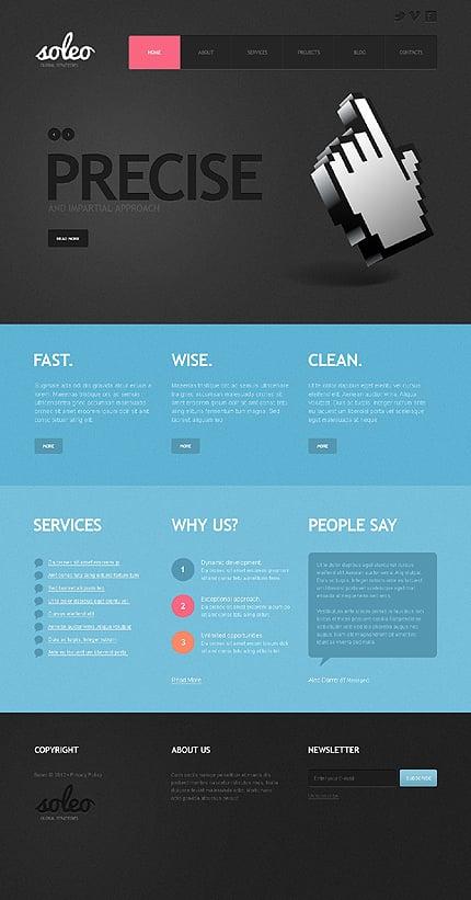 Joomla Theme/Template 39810 Main Page Screenshot