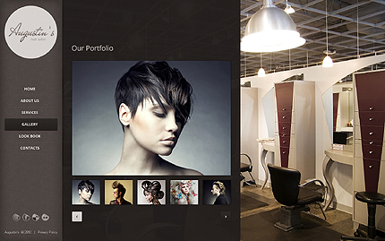 Template 39868 ( Gallery Page ) ADOBE Photoshop Screenshot
