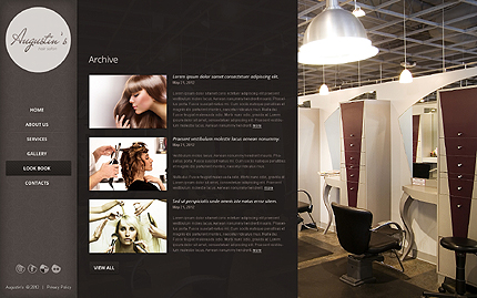 Template 39868 ( Look Book Page ) ADOBE Photoshop Screenshot
