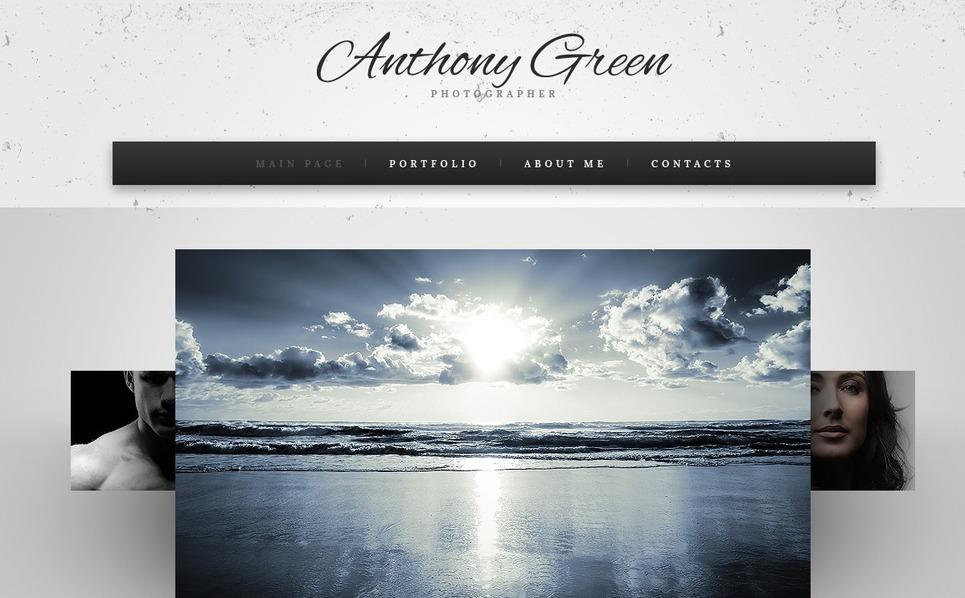 Modèle Web  pour portfolio de photographe New Screenshots BIG