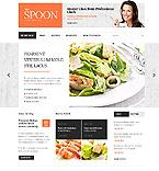 Food & Drink Website  Template 39874