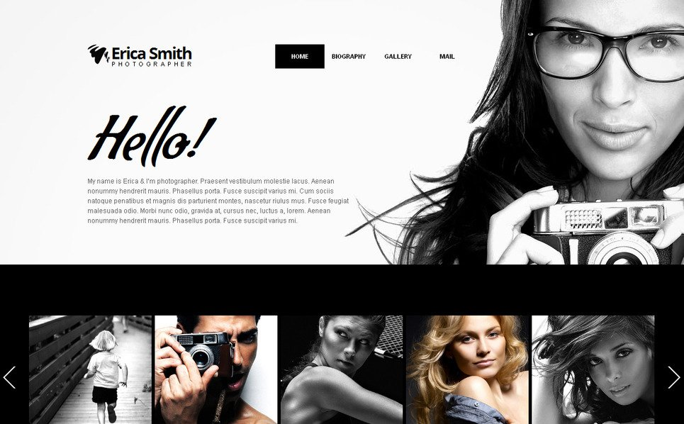Moto CMS HTML Template over Fotograaf Portfolio New Screenshots BIG
