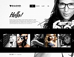 Art & Photography Moto CMS HTML  Template 39877