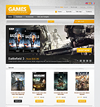 Games PrestaShop Template 39885