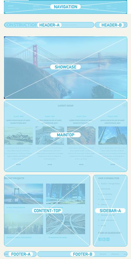 Joomla Theme/Template 39914 Main Page Screenshot