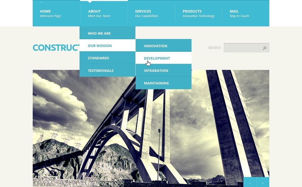 Szablon Joomla #39914 na temat: firma budowlana New Screenshots BIG