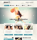 Religious Website  Template 39919