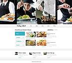 Food & Drink Website  Template 39926