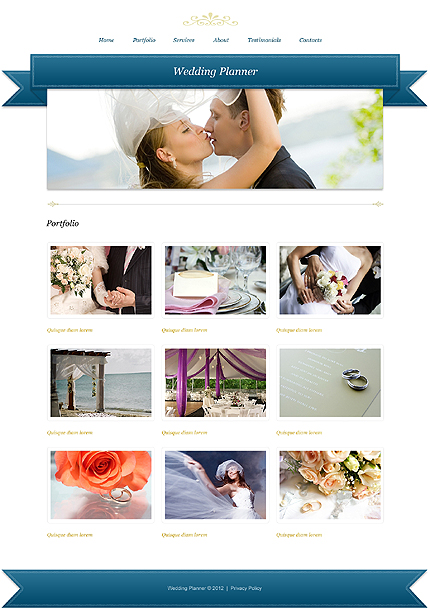 Template 39931 ( Portfolio Page ) ADOBE Photoshop Screenshot