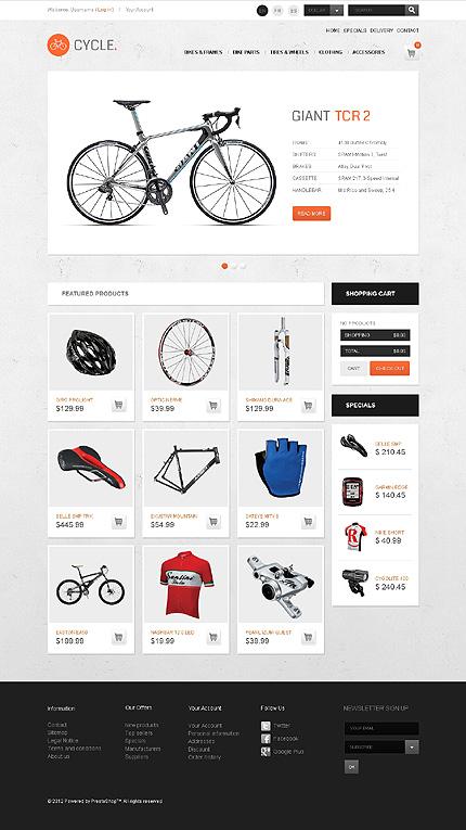 ADOBE Photoshop Template 39952 Home Page Screenshot