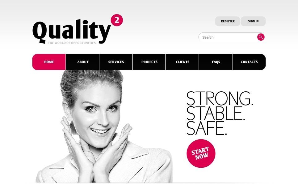 Plantilla PSD #39967 para Sitio de Negocio y Servicios New Screenshots BIG