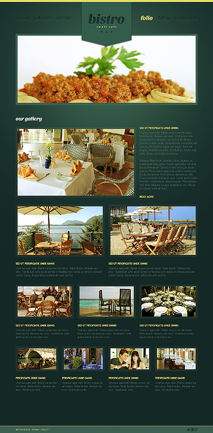 Template 39974 ( Folio Page ) ADOBE Photoshop Screenshot