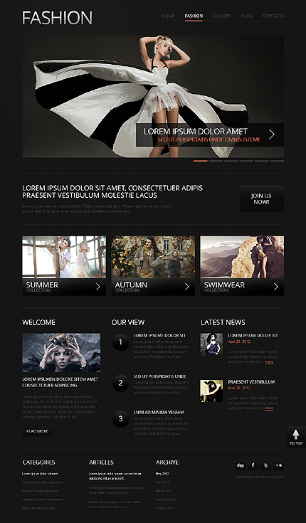 Drupal Template 39985 Main Page Screenshot