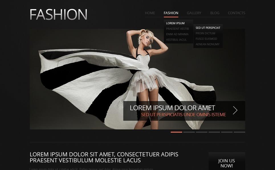 Responsive Moda  Drupal Şablonu New Screenshots BIG