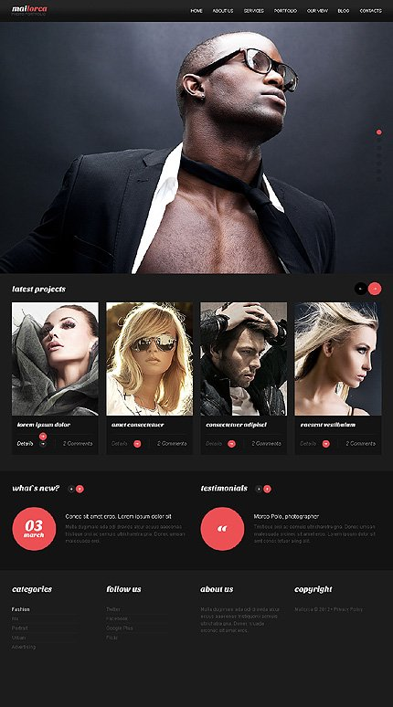 Drupal Template 39991 Main Page Screenshot
