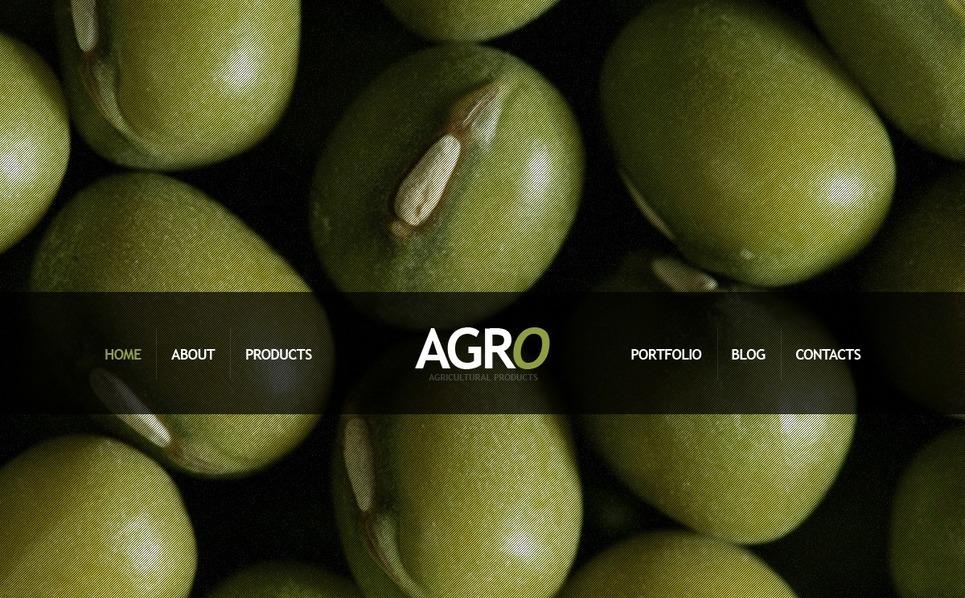 农业相关网站Drupal模板 New Screenshots BIG