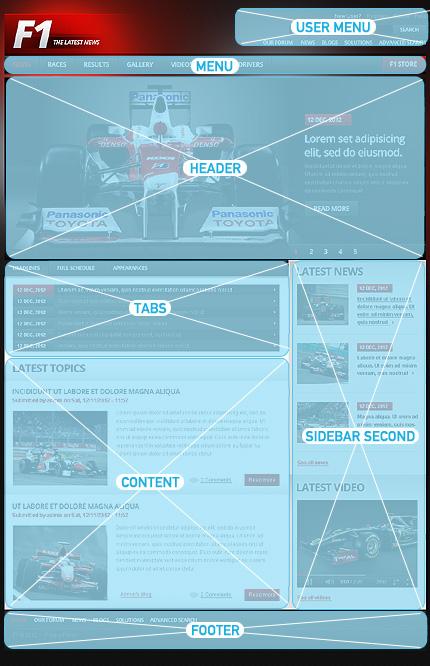 Drupal Template 39994 Main Page Screenshot