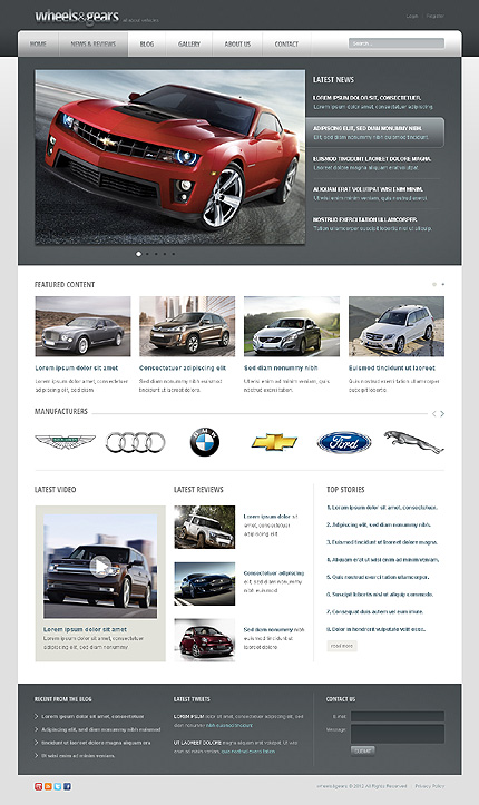 Drupal Template 39996 Main Page Screenshot