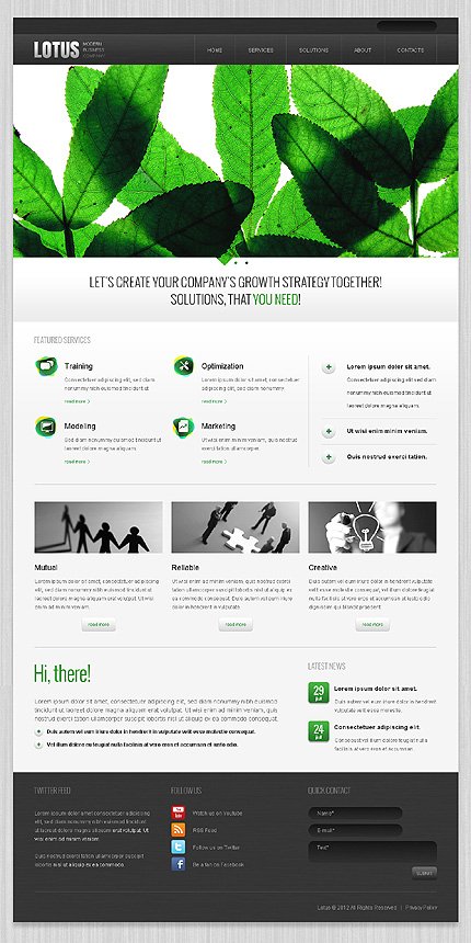 Drupal Template 39997 Main Page Screenshot