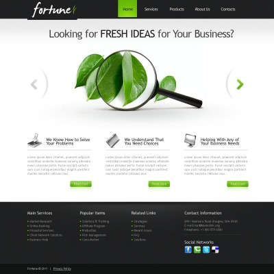 Marketing Agency Drupal Template