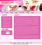 denver style site graphic designs cosmetology beauty salon pink dream cosmetics lips lipstick makeup
