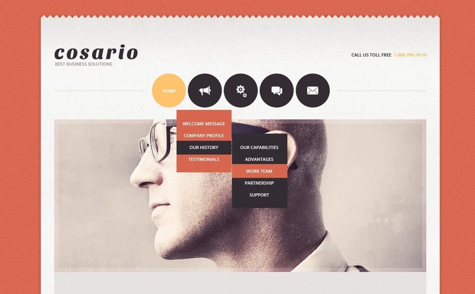 Joomla šablona Reklamní agentura New Screenshots BIG