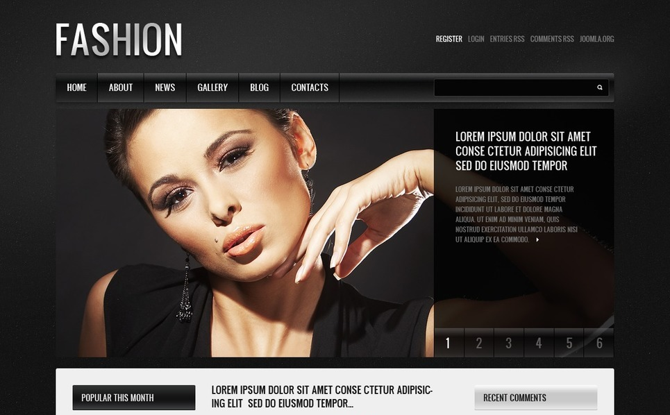Joomla Template over Marketingbureau  New Screenshots BIG
