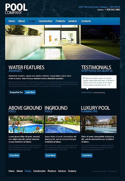 Template 40017 ( Design Page ) ADOBE Photoshop Screenshot