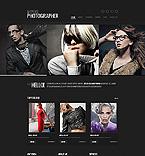 Art & Photography Website  Template 40018