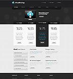 Web Hosting Website  Template 40020