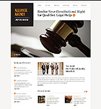Law Website  Template 40034