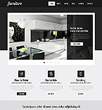 Furniture Website  Template 40036