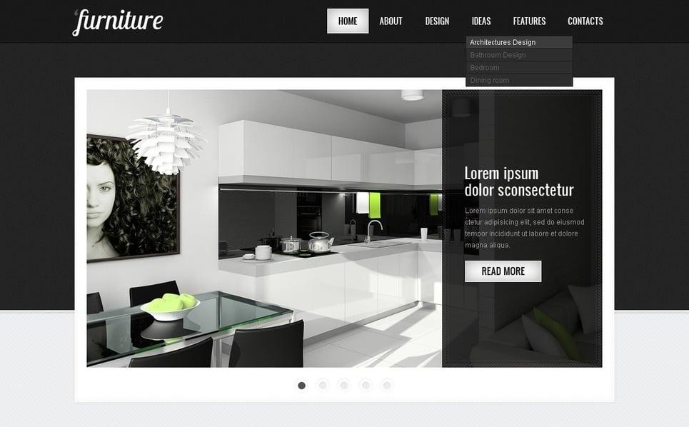 Šablona webových stránek Nábytek New Screenshots BIG