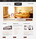 Hotels Website  Template 40037